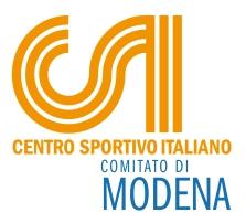 centro sportivo italiano comitato di Modena